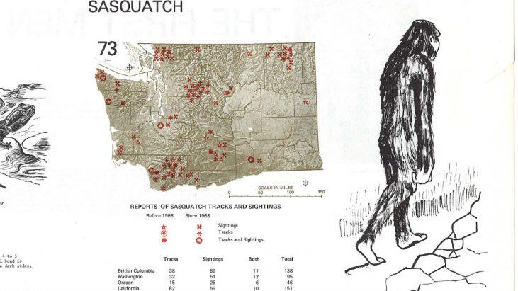 1975 Environmental Atlas for Washington – Sasquatch / Bigfoot References