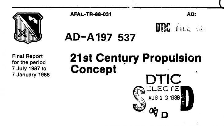 21st Century Propulsion Concept, April 1988 (Veritay Technology, Inc.)