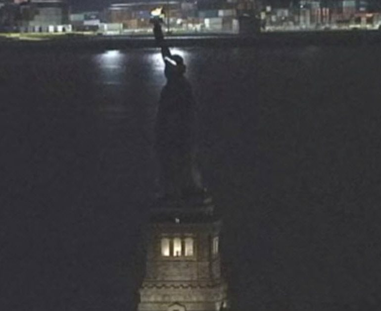 The Statue of Liberty Loss of Power on March 8, 2017