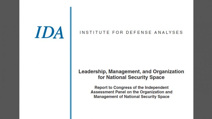 Leadership, Management, and Organization for National Security Space, July 2008
