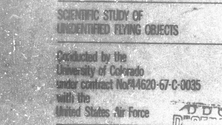 The Full Condon Committee Report on UFOs, 1968