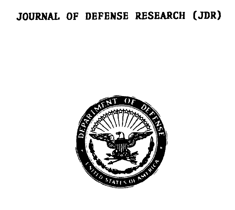Journal of Defense Research