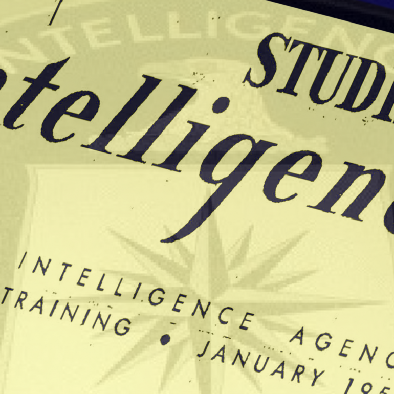 Studies in Intelligence, Volume 1, Number 2, January 1956