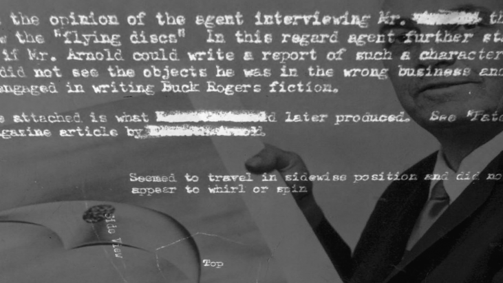 Project Blue Book Case: The Kenneth Arnold Sighting, June 24, 1947