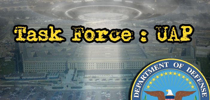 DoD Officially Acknowledges Unidentified Aerial Phenomena 'Task Force'